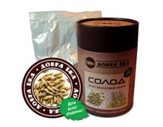 Солод ржаной ферментированый молотый - натуральный продукт здорового питания